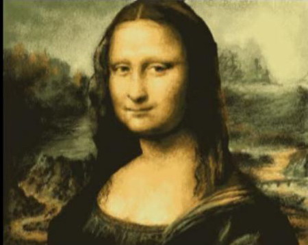 Mona Lisa Amazing MS Paint Art