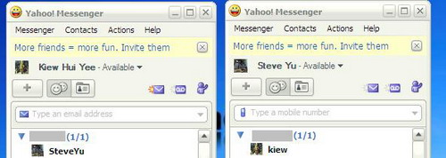 Multiple Yahoo Messenger Account Login In Same PC