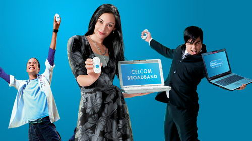 Celcom Broadband - Surf the Web on the Go
