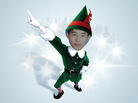 Elf Yourself Christmas e-Card - Turn Yourself into Dancing and Singing Elf