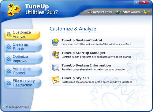 tuneup utilities 2009 free download full version with key