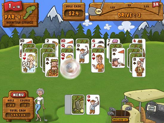 Fairway Solitaire Big Fish Games