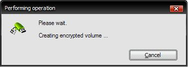 Password Protected Partition on USB Drive