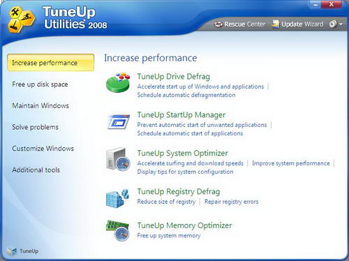 TuneUp Utilities 2008 Full Version with Free Genuine Serial Key