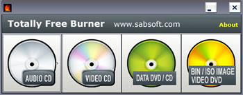 Totally Free Burner Free Portable CD and DVD Burner
