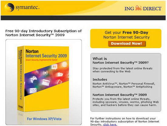 Кряк для Norton Internet Security 2009 & Norton AntiVirus 2009 Этот
