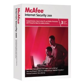 McAfee Internet Security 2009 Free 3 Months Full Version License Key