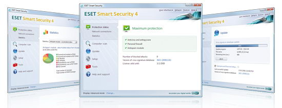 Eset Smart Security 4 Free License Keys