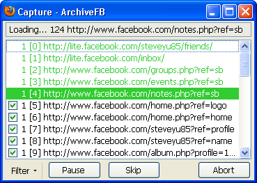 Archive Facebook
