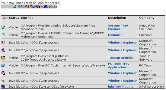 System Tray Cleanup Tool