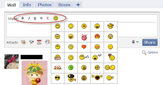 Download emoticons facebook status