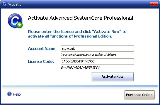 IObit Advanced SystemCare Pro v3.7 Free 1 Year License Serial Code