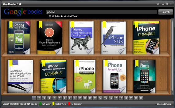 Read Google Books On Your Desktop With GooReader