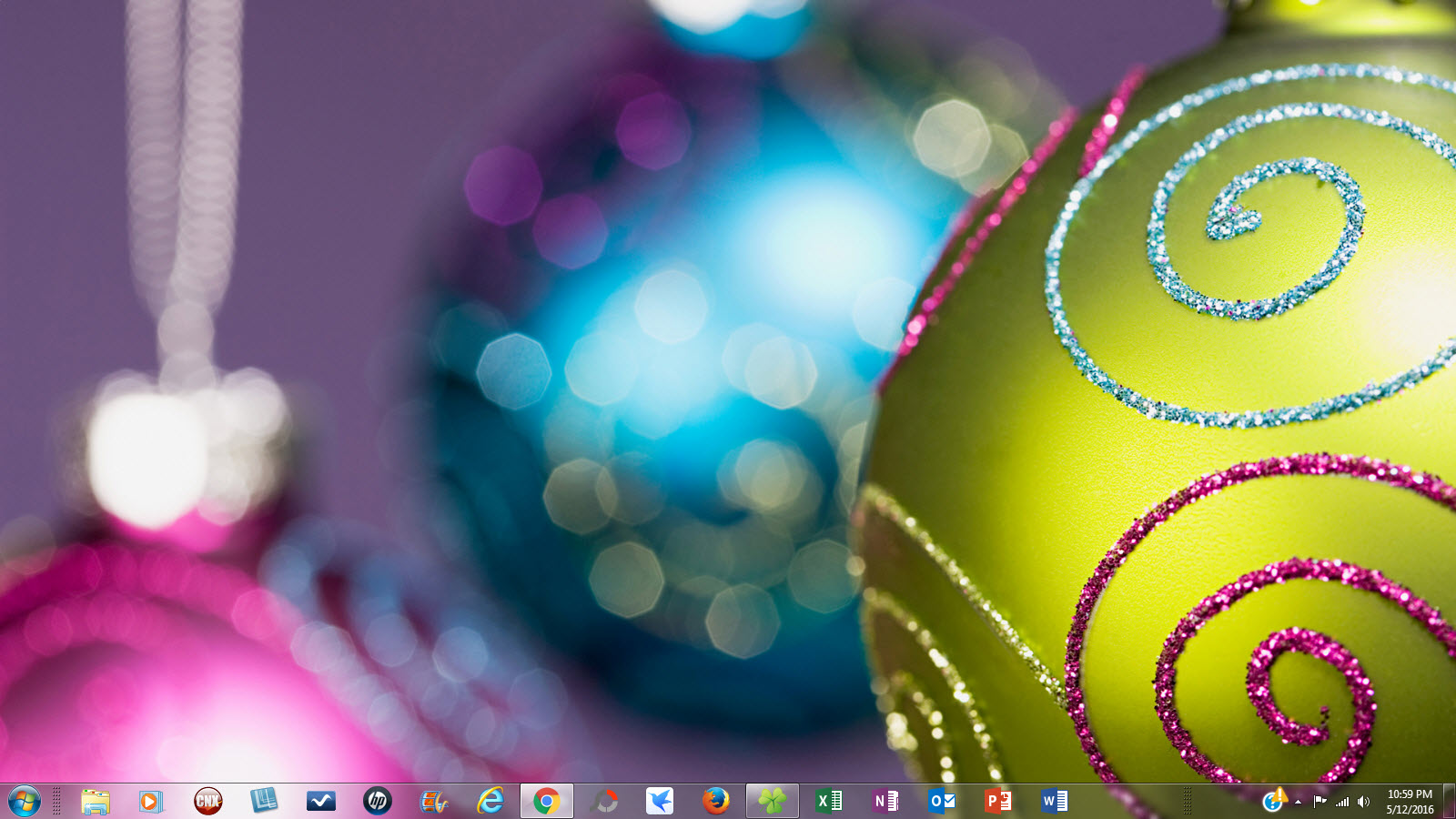 Windows 7 christmas theme (windows) download.
