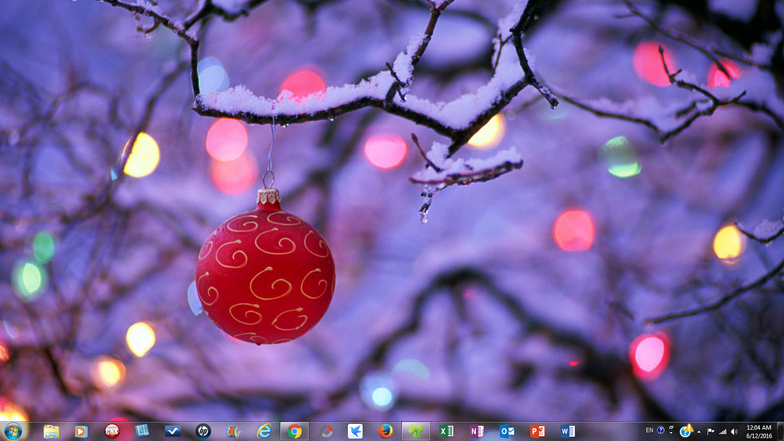 free christmas theme packs for windows 7