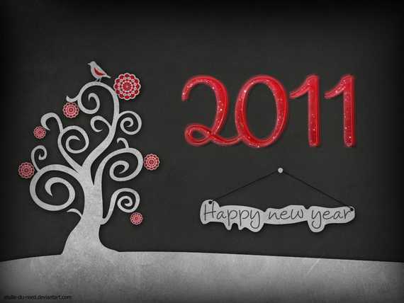 40+ Nice and Beautiful New Year 2011 Wallpapers for Desktop