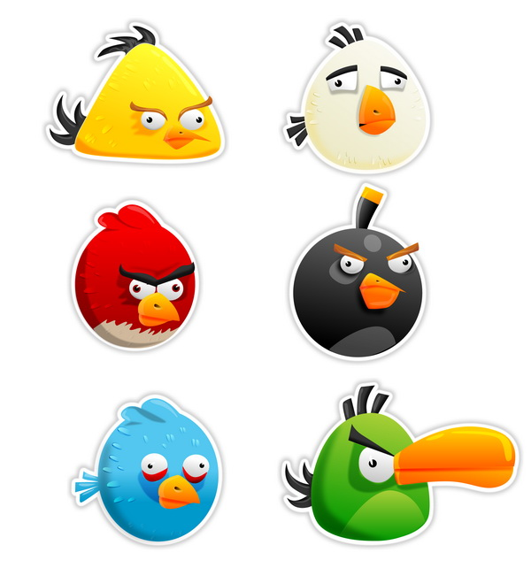 angry birds all characters - photo #2