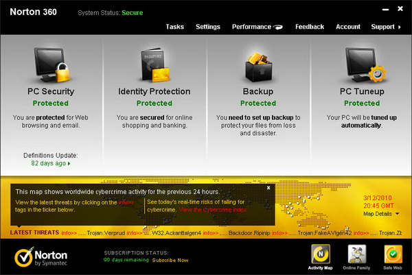 download norton antivirus with activation key