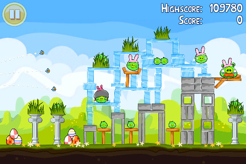 Play Angry Birds Seasons Easter Edition On Android, iPhone ...