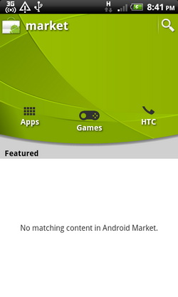 accessing android market directly from your android device you can