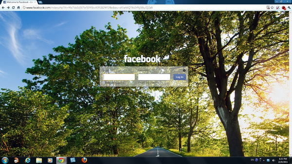 Fb refresh adds background image to facebook login page you stopboris