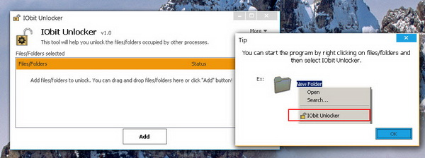 IObit Unlocker Unlocks Shared Files and Folders in Windows ...
