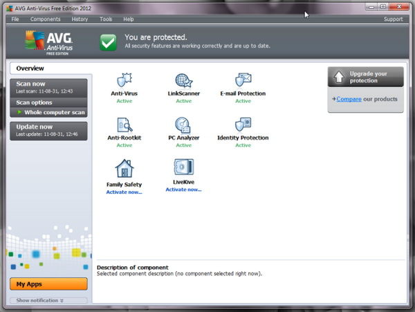 AVG Anti-Virus 2012 12.0 1809 Build 4504 مع المفتاح