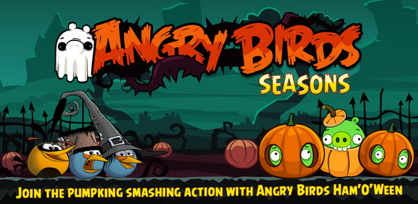 Play Angry Birds Seasons Ham 'O' Ween Edition On Android ...