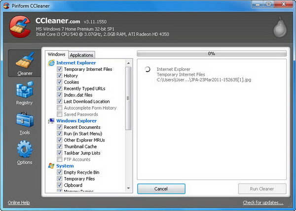 WatFile.com Download Free Piriform has released a newer version of CCleaner The freeware system