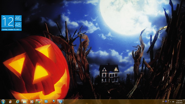 download trick or treat halloween theme - Windows 7 Halloween Theme