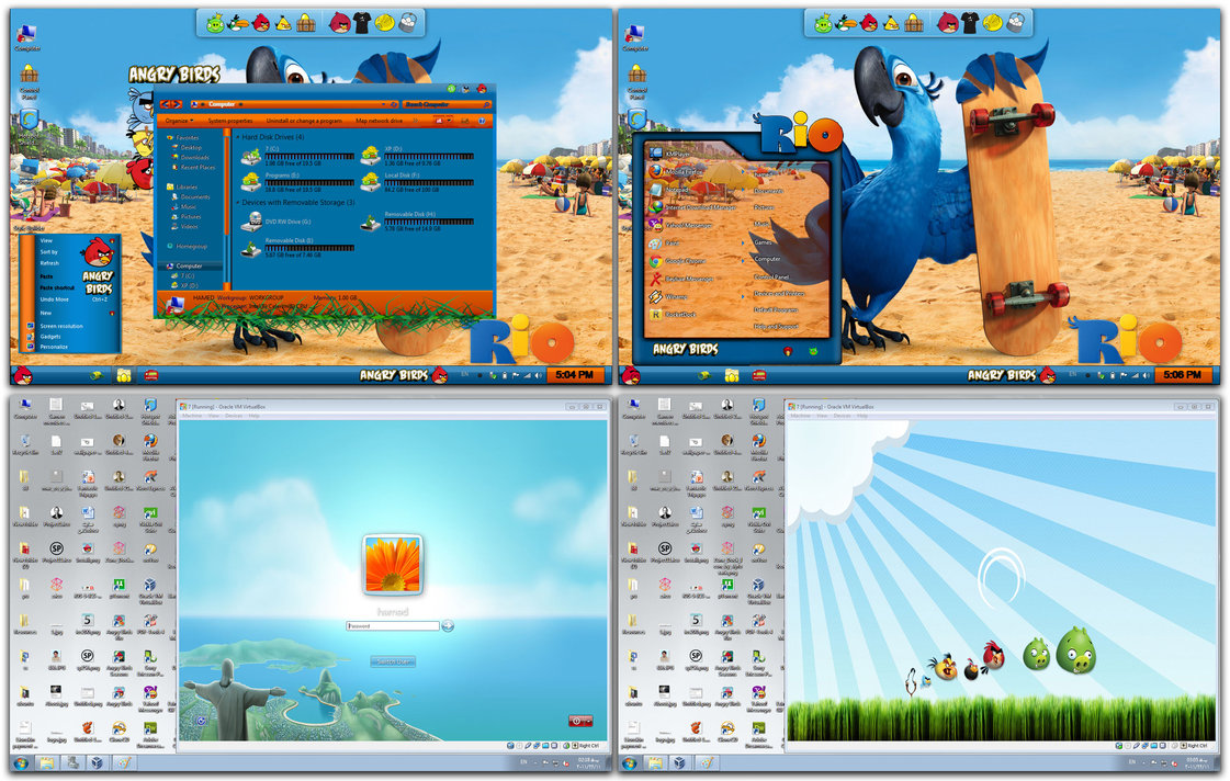 Angry birds skin pack 1. 0 for windows 7.