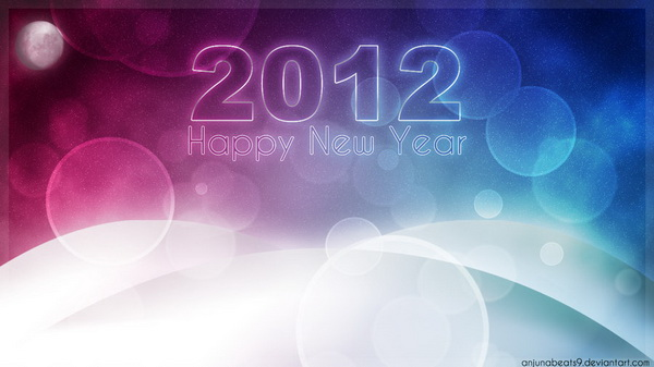 New Year 2012 Desktop Wallpapers