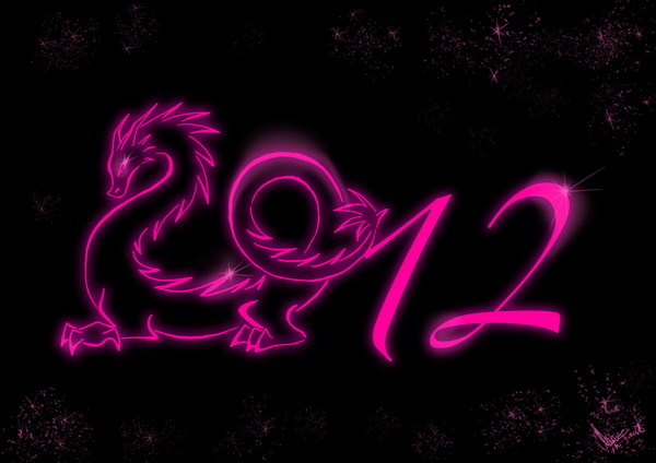 New Year 2012 Desktop Wallpaper