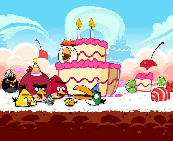 Angry Birds Celebrate 2nd Birthday