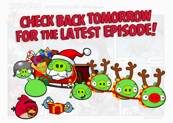 Read Angry Birds Christmas Comic for Free [Daily Update till ...