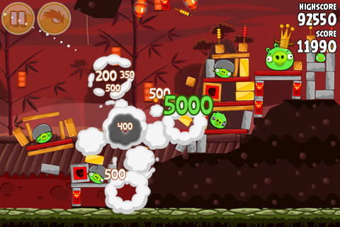 Angry Birds Seasons - Year of the Dragon update