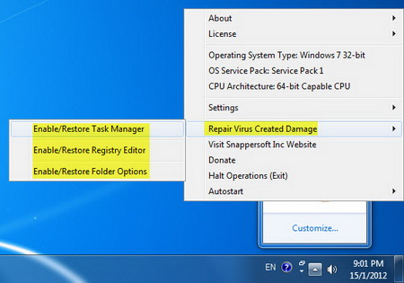 how to unhide files in usb windows 8