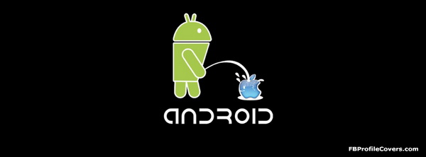 Funny Android Facebook Timeline Cover Image