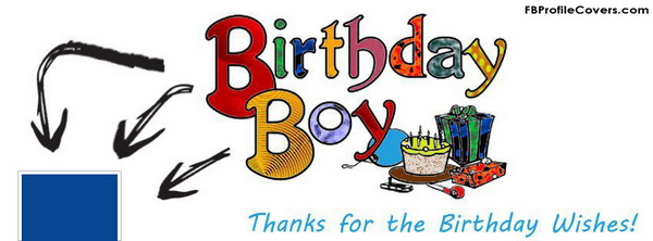Birthday Boy Facebook Timeline Cover Image