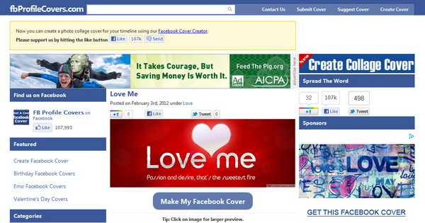 FB Profile Covers - Facebook Timeline Cover Images