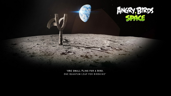 Angry Birds Space Wallpapers