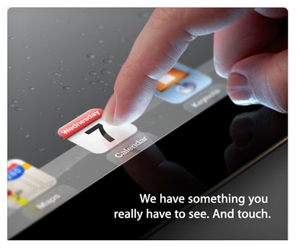 iPad 3 Event on March 7