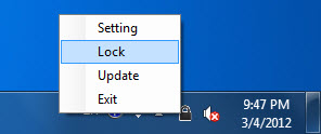 how to set hotkey to gnome lock screen