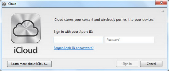 Transfer Photos Automatically from iPad to PC using iCloud