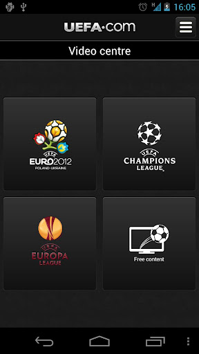 Official UEFA EURO 2012 Android App