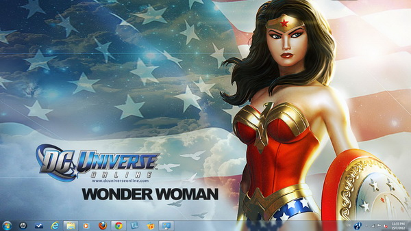 DC Universe Online - Windows 7 Theme