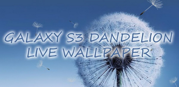 Galaxy S3 Live Wallpaper for Android