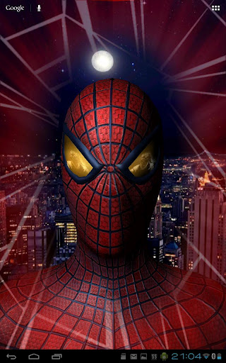 The Amazing Spider-Man 3D Live Wallpaper for Android