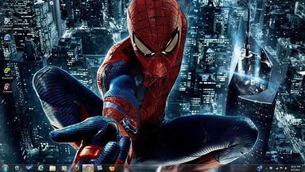 The Amazing Spiderman - Windows 7 Theme Pack