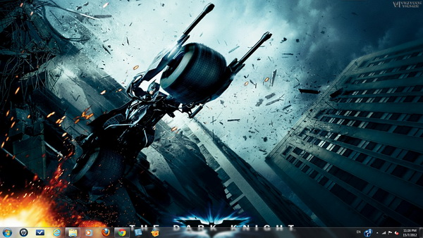 The Dark Knight - Windows 7 Theme
